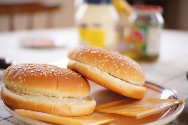 gluten-free hamburger bus where to buy